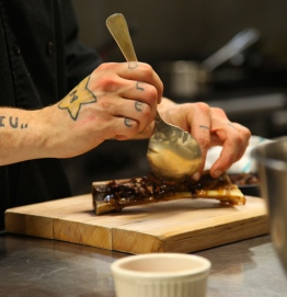 Duffin plating oxtail - Photo by Beth Clauss