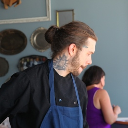 Executive sous chef, Matt Duffin - Photo by Beth Clauss